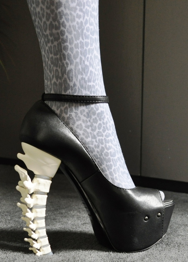 D Squared Spine Heel Shoes Zomg Shoe Lust