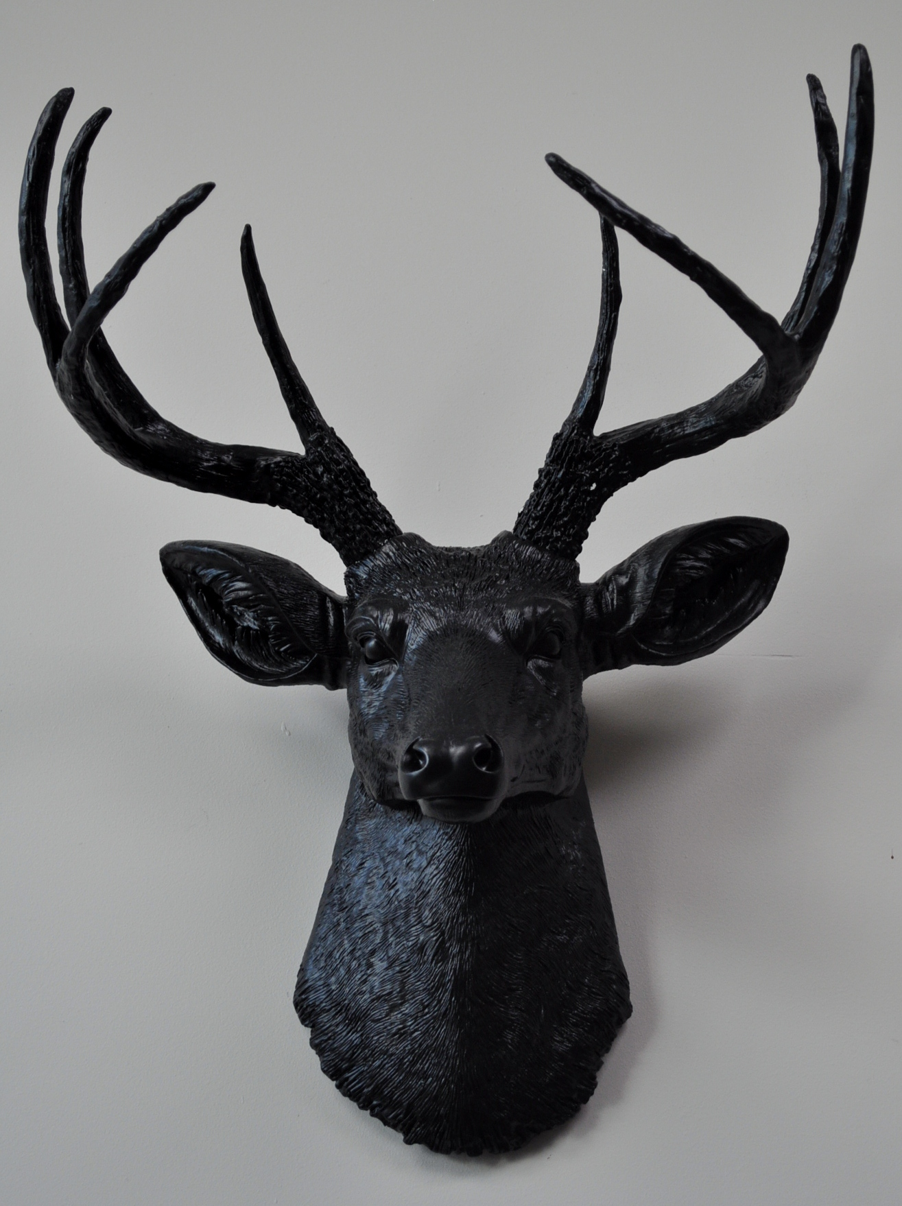 Wall Decoration Deer Head : My decor diamante skulls stag heads