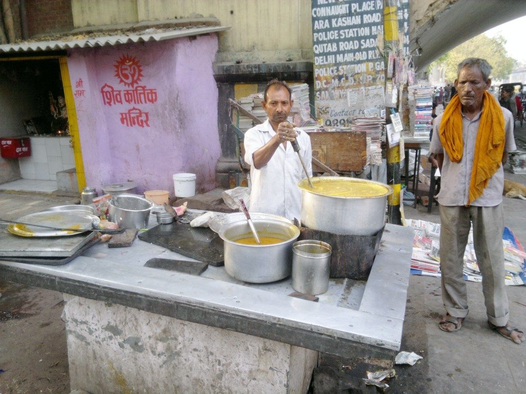 Dahl stall Delhi India