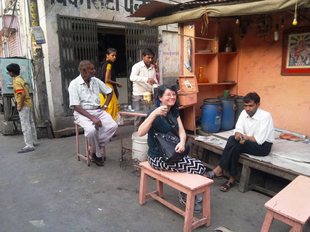 chai stall India