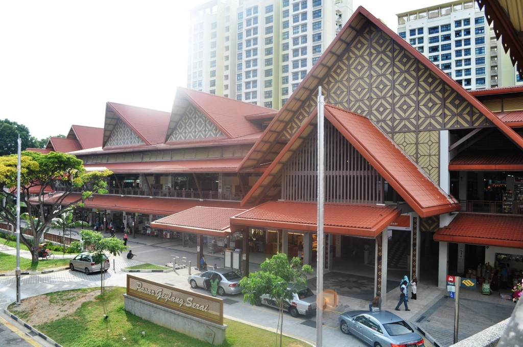 Malay Market in Singapore