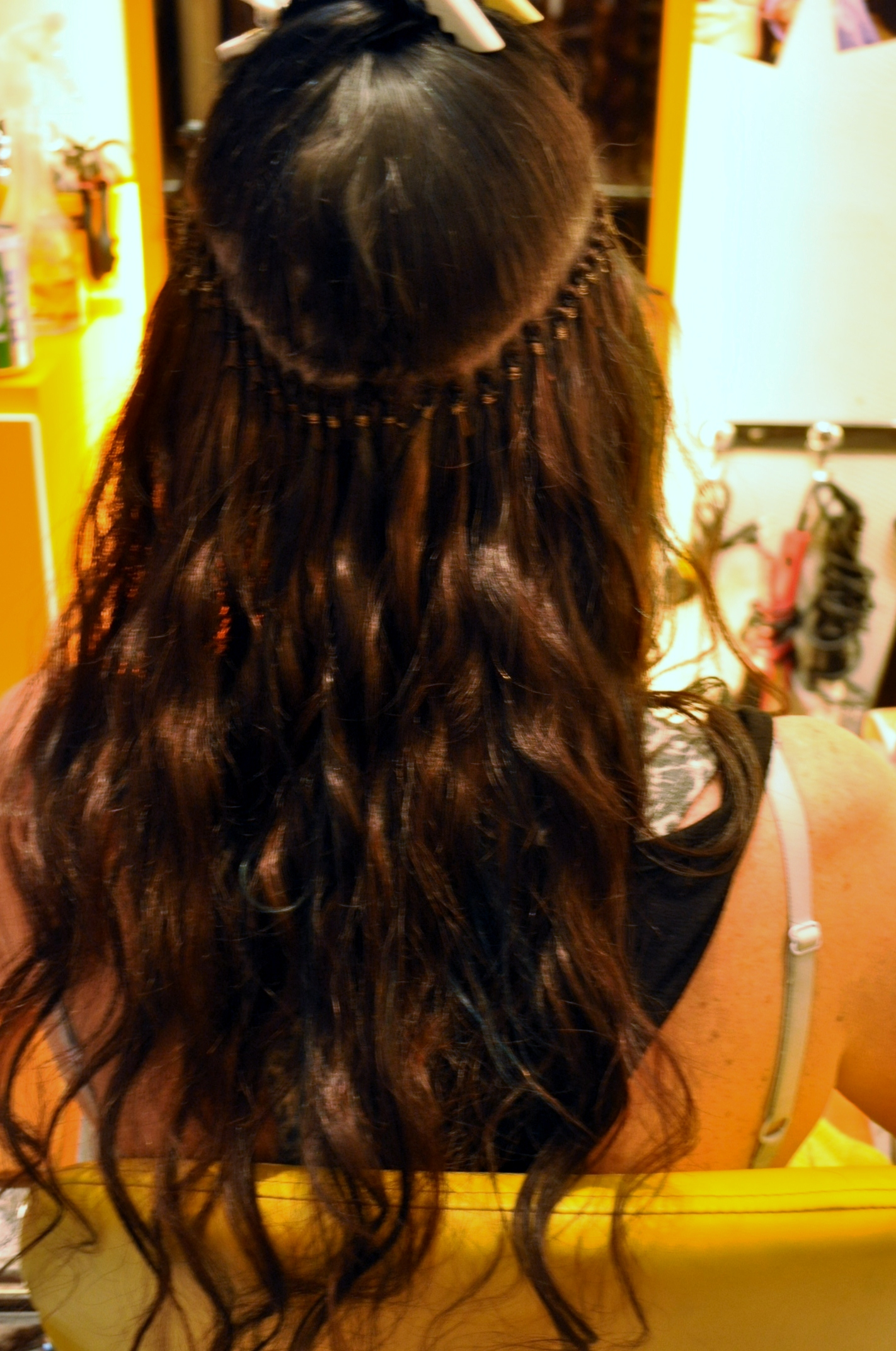 I Got New Hair Extensions In Singapore Thefashionatetraveller
