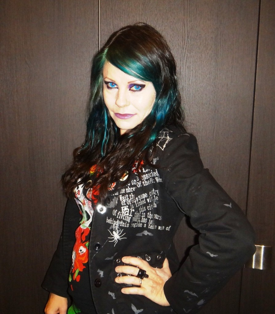 punk gothic outfit