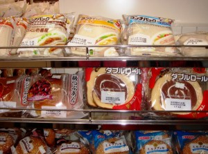 sandwiches in konbini