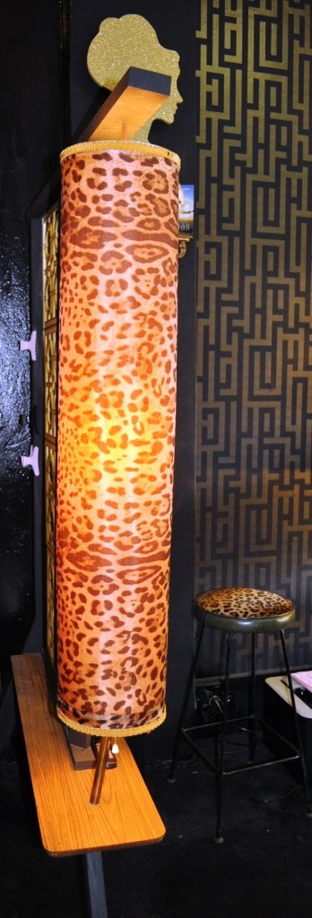 Leopard Lamp in Leopard Lounge