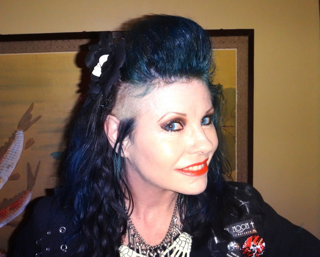 psychobilly hair shaved side quiff