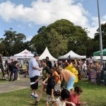 Newtown festival stalls