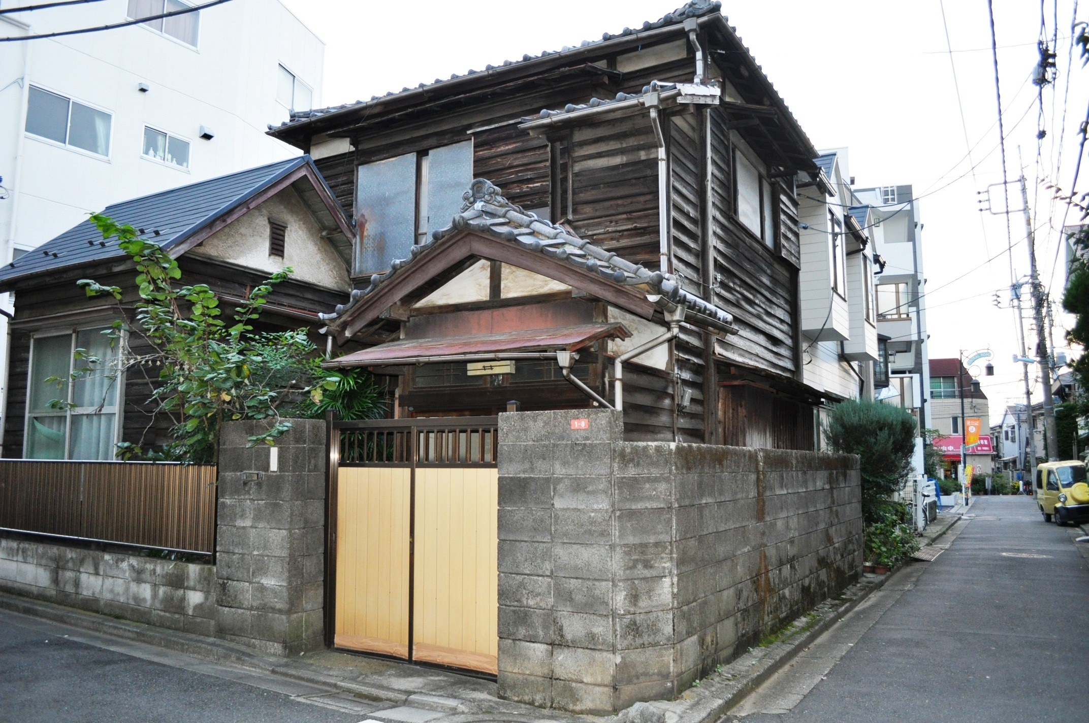Traditional Japanese house in Koenji