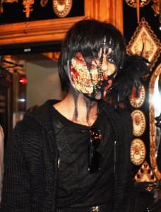 skullface at Abilletage Halloween 2012