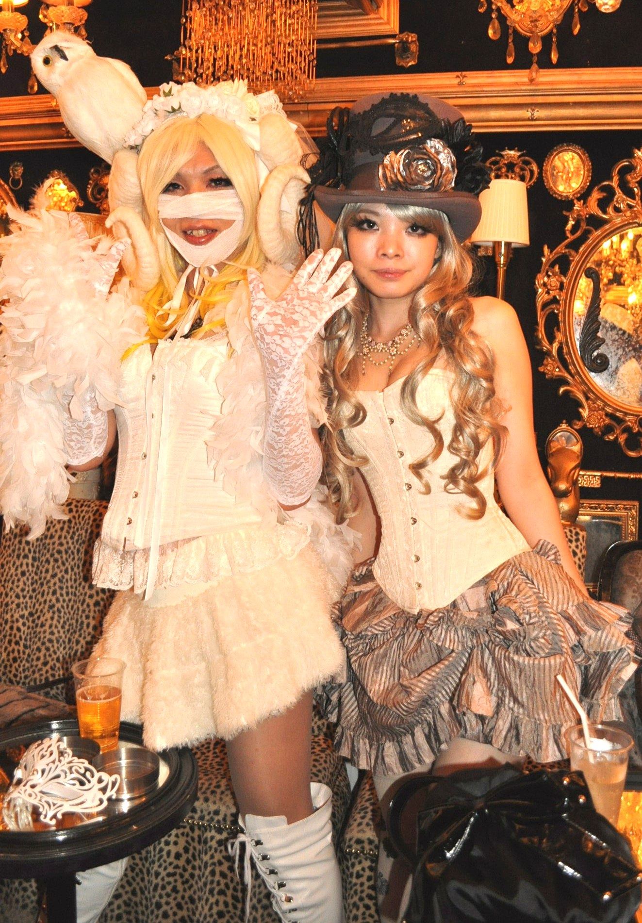 Abilletage Halloween 2012 Trump Room Shibuya
