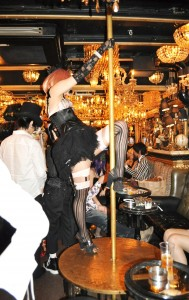 Abilletage pole dancer