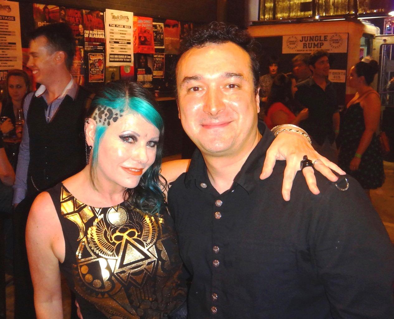 Leanne Dom NYE 2012